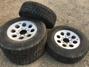 """4 18"""" Winter Tires on Rims FOR SALE"""