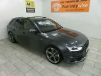 2014,Audi A4 Avant 2.0TDI 150bhp Avant Black Edition**BUY FOR ONLY £64 PER WEEK*