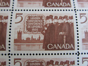 Stamps - Canadian 5 cent - London conference 1866 Kitchener / Waterloo Kitchener Area image 1
