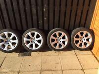 Genuine BMW E92 coupe alloy wheels 17