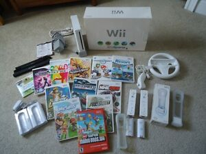 Nintendo Wii Sports Video Game System Console Bundle
