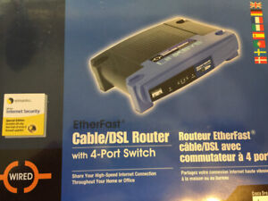 LinkSys Wired Cable/DSL Router