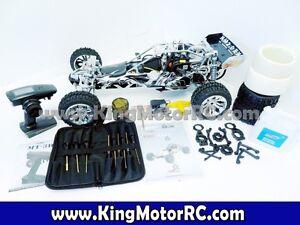 RC King Motor 1/5 gas 30.5cc 2.0 EX Aluminium RTR téléguidé