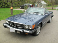 1984 Mercedes Benz 380 SL 2 Door Convertible