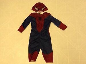 Baby toddler marvel Spider-Man Halloween costume size 12-18mos
