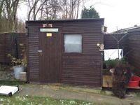 Shed , patio , flags , sleepers ,pots , plants , tools , gravel etc