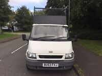 Ford transit tipper 90 t350 MWB low mileage 94000 (53) REG Diesel