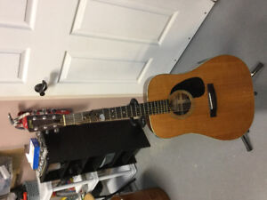 FOR SALE  1976-77 S.YAIRI ACOUSTIC-ELECTRIC GUITAR