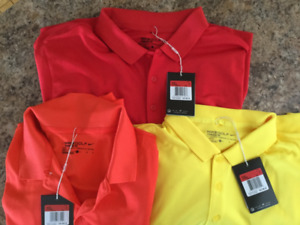 Brand new Men's Nike Golf shirts
