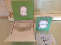 Stella & Dot Essential Fringe Necklace ~ Silver RRP £50 BNIB