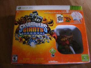Jeu Xbox 360 Skylanders Giants avec figurine