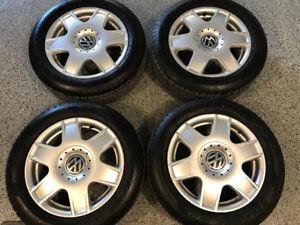 Roues Volkswagen 5x100 avec pneus Neufs