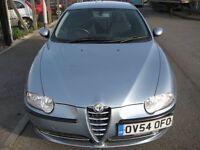 Alfa Romeo 147 1.9 JTD Turismo 3dr (blue) 2005