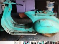Scooter motorbike moped wanted shed garage find none runner