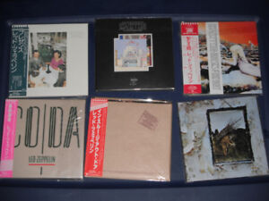 Led Zeppelin imported cd's