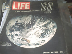 THE INCREDIBLE YEAR 1968 - LIFE MAGAZINE