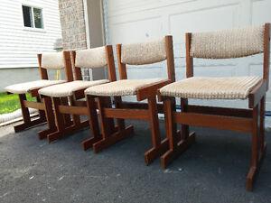Danish Teak/Teck Dining Chairs - Gangsø Møbler