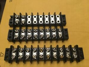 8 and 10 pole terminal block for sale