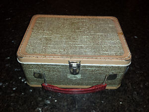 Vintage Metal Thermos Lunchbox