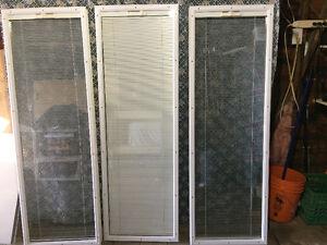 Window kit for door