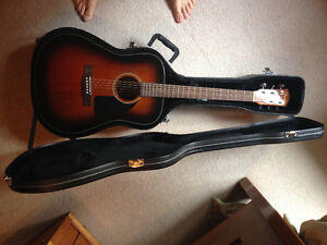 Fender Guitar with Protective Case