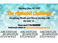 The Alphabet Health and Fitness Challenge!