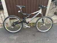 Cannondale Rush lefty mountain bike
