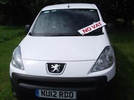 2012 White Peugeot Partner 1.6HDi ( 92 ) 850 S L1 Ormskirk