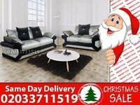 Brand New Diano Velvet 3 nd 2 Seater sofa Brockton