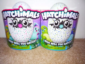 Hatchimals  TEAL/PINK  or  BLUE/GREEN
