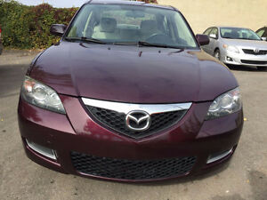 2007 Mazda Mazda3 GS Berline 2.0L AUTOMATIQUE LOW KM SPECIAL
