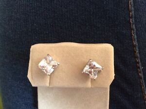 925 silver and cubic zirconia earrings