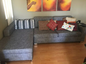 Comfortable Sectional - Pulls Out to Queen-Sized Bed