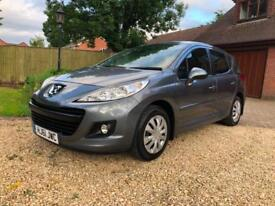 2011 (61) PEUGEOT 207 SW 1.6 HDI 92BHP ACCESS ESTATE 5DR ONLY £20 TAX