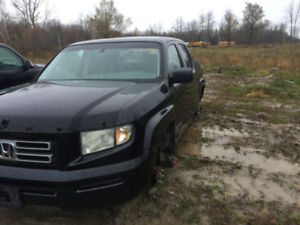 2007 honda ridgeline parting out