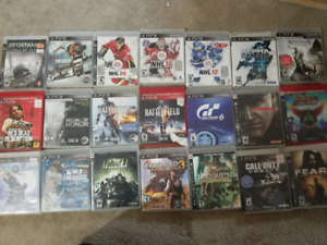 Ps3 games for 65 bucks