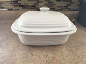 Pampered Chef Large Clay Baker