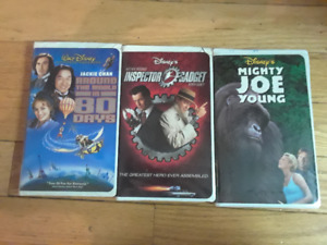 Walt Disney's VHS Home Videos, $5 for all 3