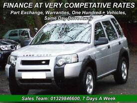 Land Rover Freelander 2.0Td4 auto 2005MY SE