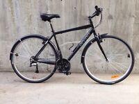 Large 2 years old Devinci Stockholm hybrid bike with fenders