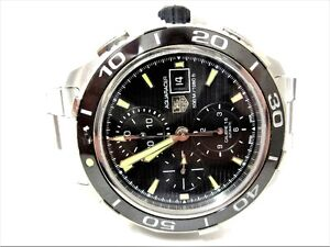 TAG Heuer Aquaracer Cal 16 Automatic Chronograph Watch - CAK2111 London Ontario image 1
