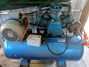 Air compressor 200L tank 7.5hp motor 3 phase Beechboro Swan Area Preview