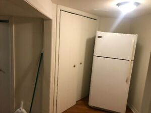 Bachelor basement apartment for rent . Yonge and steels.