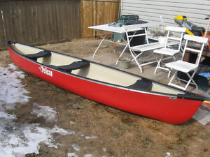 Pelican 15.5 ft canoe