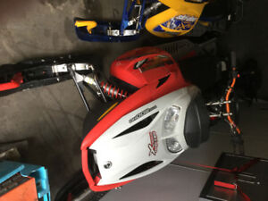 2006 skidoo summit red X 800