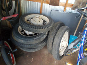 Model A Tires and Rims