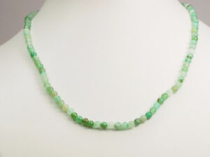 STERLING SILVER CHALCEDONY NECKLACE-GREAT BUY !!!