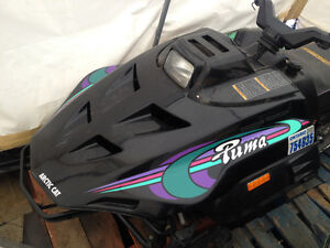 1995 Arctic Cat Puma 340cc rolling chassis with ownership