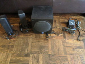 Yamaha Speakers With Subwoofer