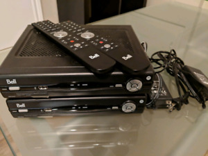 Bell Fibe PVR and HD Receiver
